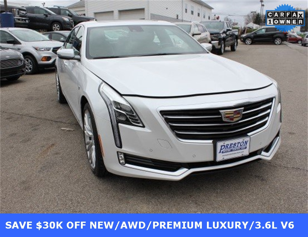 Pre-Owned 2017 Cadillac CT6 3.6L Premium Luxury