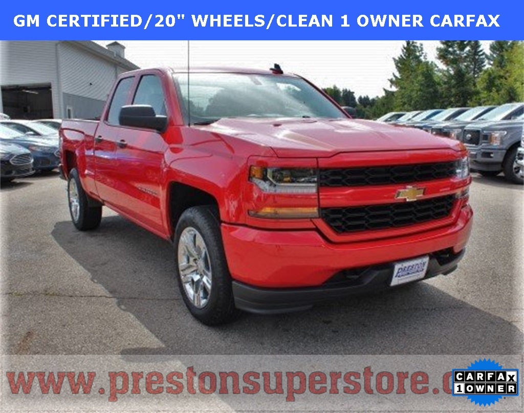 Certified Pre-Owned 2017 Chevrolet Silverado 1500 Custom