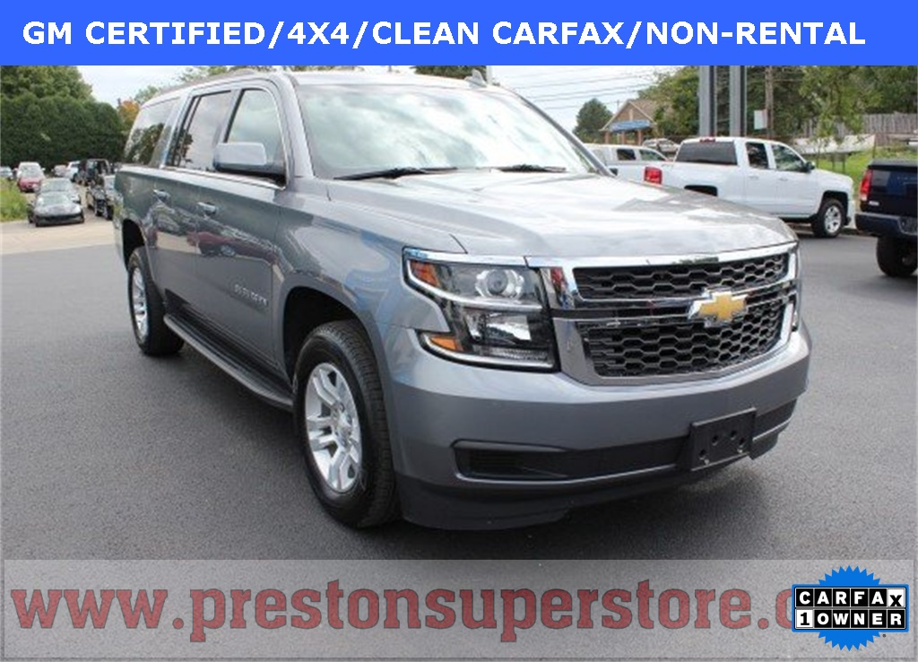 Pre Owned Suburban >> Certified Pre Owned 2018 Chevrolet Suburban Lt 4wd