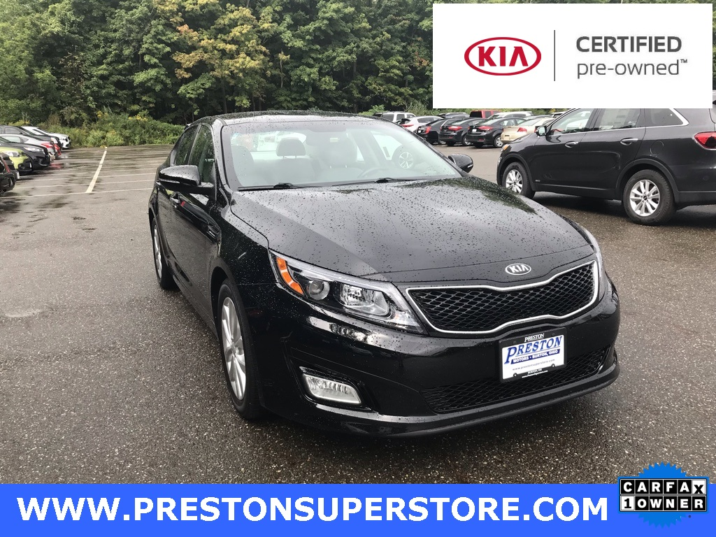 Certified Pre Owned 2014 Kia Optima EX