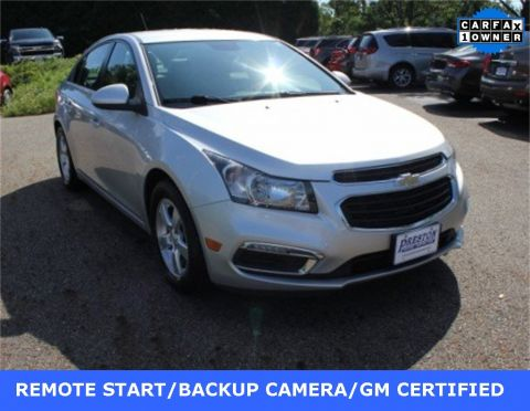 Certified Pre-Owned 2016 Chevrolet Cruze Limited 1LT