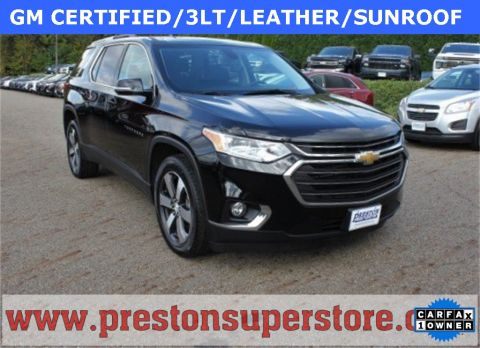 Certified Pre-Owned 2018 Chevrolet Traverse LT Leather